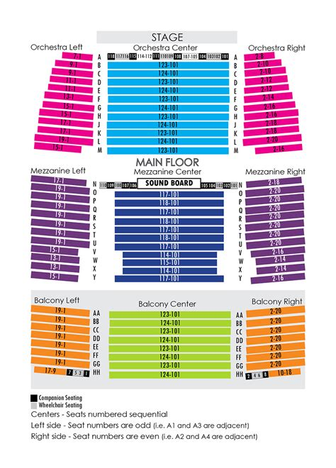 Home Design Architectural Series 18 house seating chart niswonger performing arts center