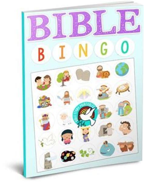 Bible Bingo Free Printables