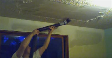 popcorn ceiling removal vacuum say goodbye to popcorn ceiling problems with this simple