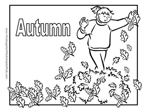 autumn coloring pages for kindergarten autumn coloring pages