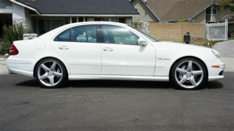 sell used 2006 e55 e55 amg mercedes benz 48k miles white