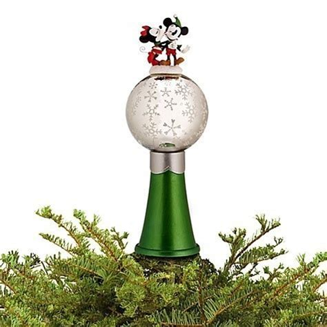 mickey and minnie christmas tree topper disney mickey minnie mouse tree topper the magic new other