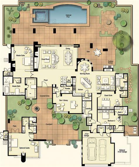 hacienda style home plans hacienda style homes floor plans www pixshark com