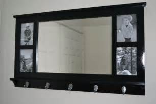 Foyer Bench Furniture Entryway Mirror With Hooks Home Furniture Ideas
