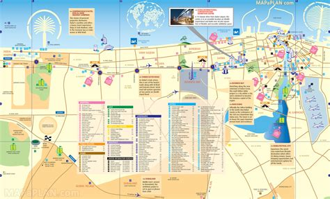 places to visit in map map of duba 239 tourist attractions sightseeing tourist tour