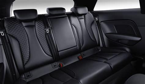 French Banquette Nouvelle Audi A3 Et Audi S3 Profonde Mise 224 Jour