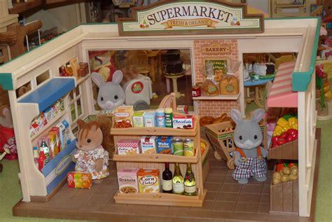 Sylvanian Families Original Supermaket sylvanian families supermarket chani chan flickr