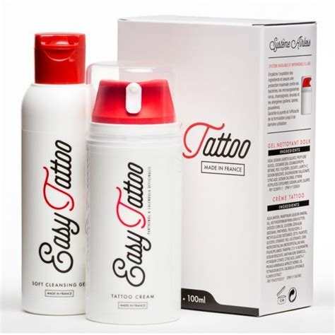 easy tattoo cream kit de soins tattoo 100 ml x 40pc