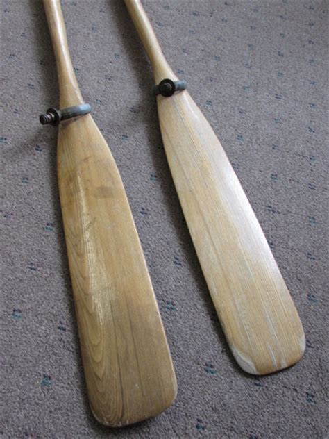 boat oars with oar locks lot detail row row row your boat a pair of wooden