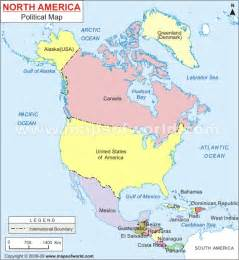 america map countries americas america gkquizzitive