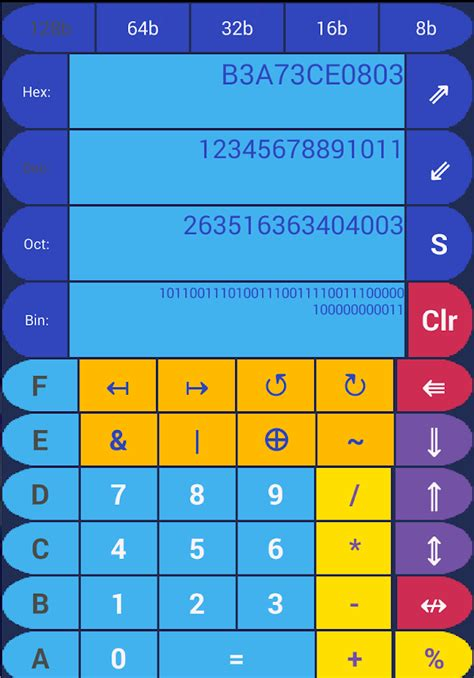 calculator xor logicalc logic calculator android apps on google play
