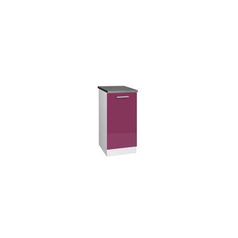 meuble bas cuisine 30 cm largeur meuble bas cuisine tara 30 cm 1 porte 1 233 tag 232 re laqu 233 brillant