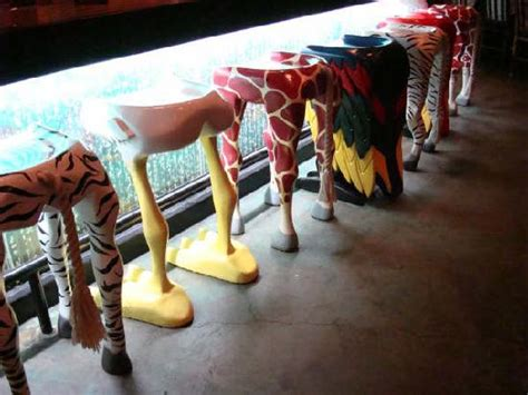 Coolest Bar Stools by The Coolest Barstools In Vegas Picture Of Forest