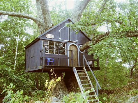 Tiny Tree House | tiny treehouse tiny house swoon