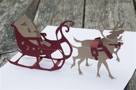 Reindeer Pop Up Card Template by Reindeer Pop Up Card Prototype By Feynico On Deviantart