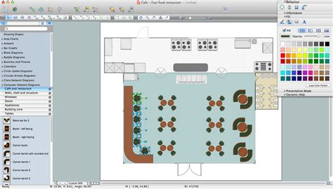software for floor plan design restaurant floor plan creator free