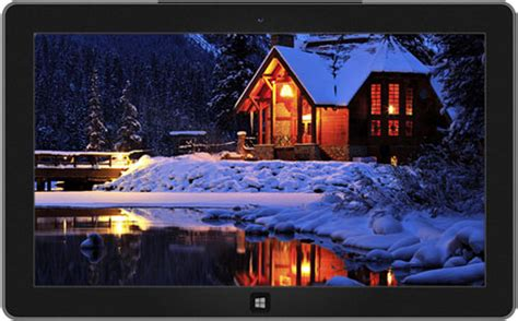 microsoft themes winter snowy night winter theme for windows 10