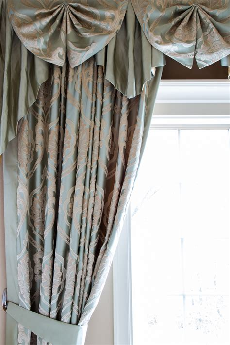 cascade valance curtain emerald bouquet paris salon cascade valances curtain drapes