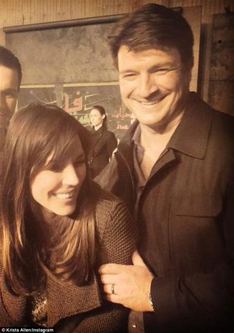 new year cookies nathan fillion castle nathan fillion s new squeeze is george