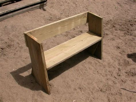 easy to build wood benches 17 best images about garden bench plans on pinterest
