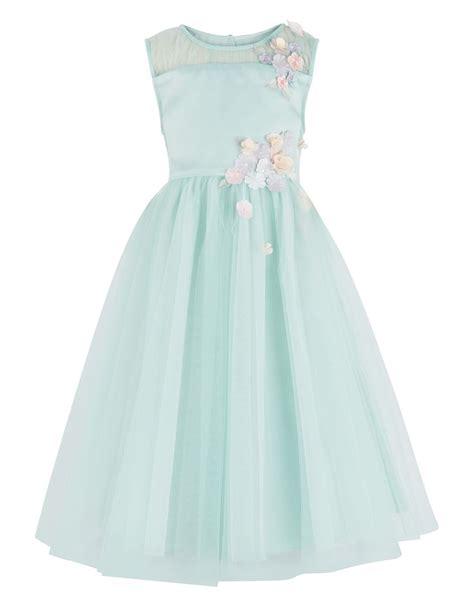 Floral Applique Fashion At Monsoon by Fallon Dress Green Monsoon Flower Children