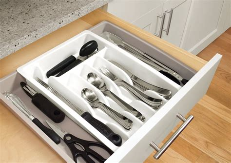 youcopia expandable silverware organizer tray for drawer