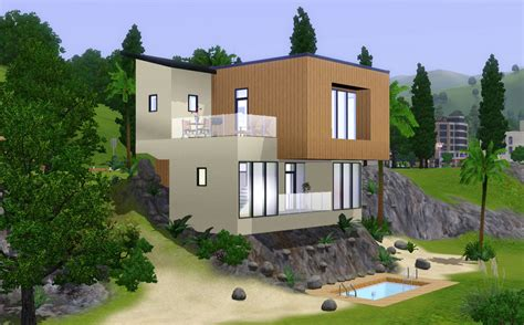 sims 3 beach house mod the sims modern beach house