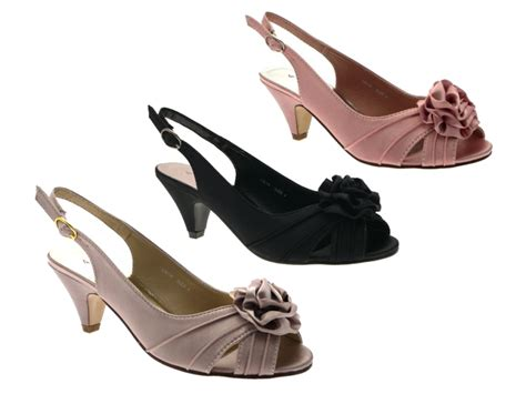 comfort bridal shoes womens low heel satin wider bridal wedding comfort shoes