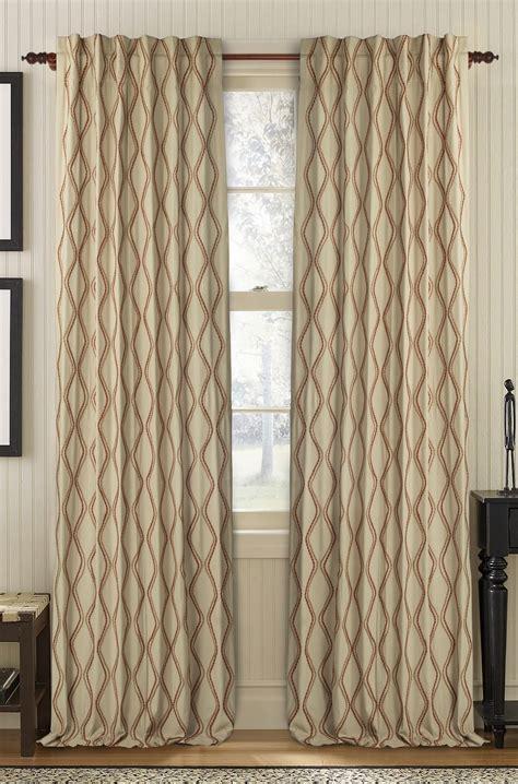 cotton drapery panels muriel kay enlace linen cotton drapery panel