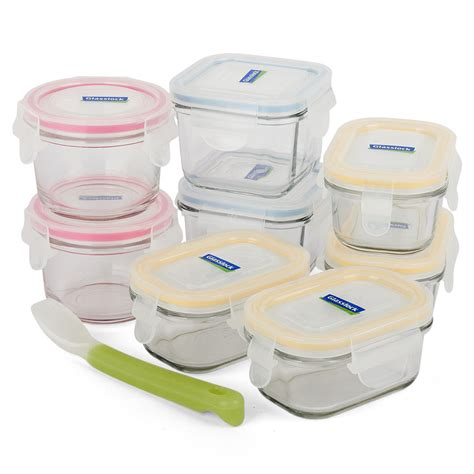 Baby Meal Set glasslock baby meal set 9pce