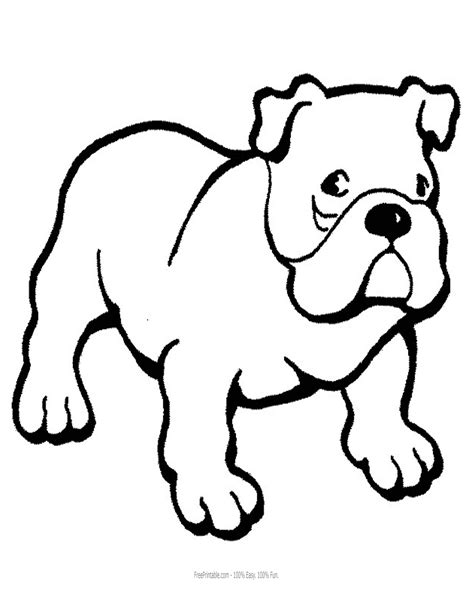 english bulldogs with puppy coloring page free printable english bulldog face coloring pages