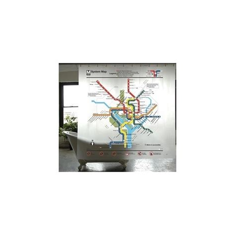 dc metro shower curtain 1000 ideas about washington metro on pinterest