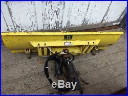 john deere plow » john deere 855 diesel tractor with