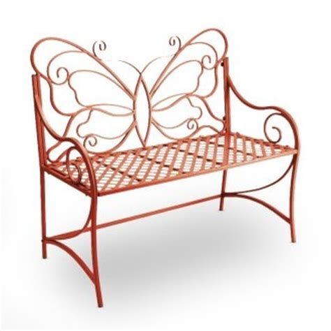 wrought iron butterfly bench 17 best ideas about wrought iron bench on pinterest