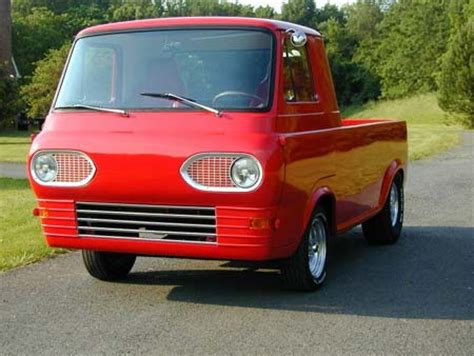 automobile brand's of the past..,: ford econoline pickup