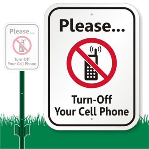 is it okay to ask wedding guests to turn off their cell phone