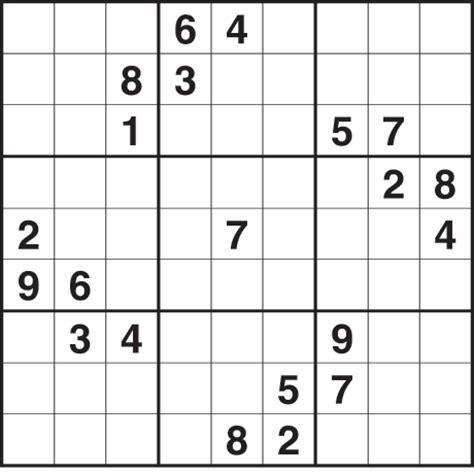 Sudoku 2 702 Medium Life And Style The Guardian