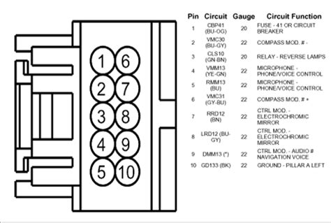 rear view mirror wiring diagram rear free engine image for user manual