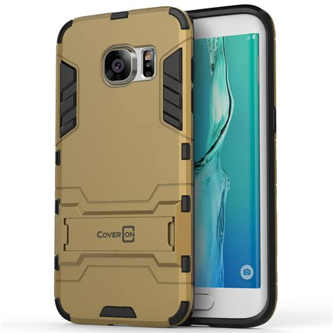 For Samsung Galaxy S7 Hardcase W Kick Stand Anti Shock Armor Tpu for samsung galaxy s7 edge soft kickstand dual layer protective cover ebay