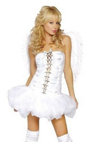 hairstyles for angel costume new white angel fancy dress f 233 e animaux halloween