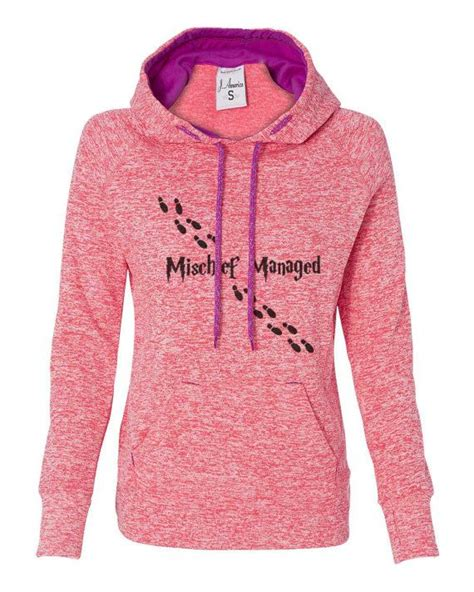 Raglan Harry Potter 01 Ordinal Apparel harry potter mischief managed soft hoodie sweatshirt kangaroo pockets s m