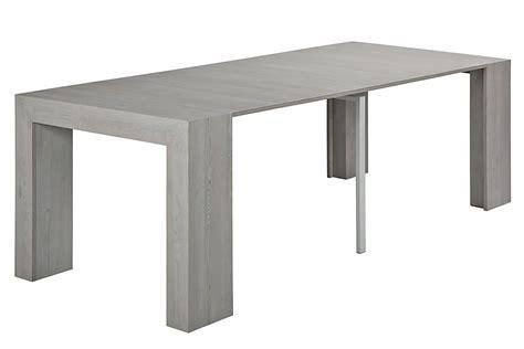 tavolo larice grigio vr65 tavolo consolle allungabile in melaminico diverse