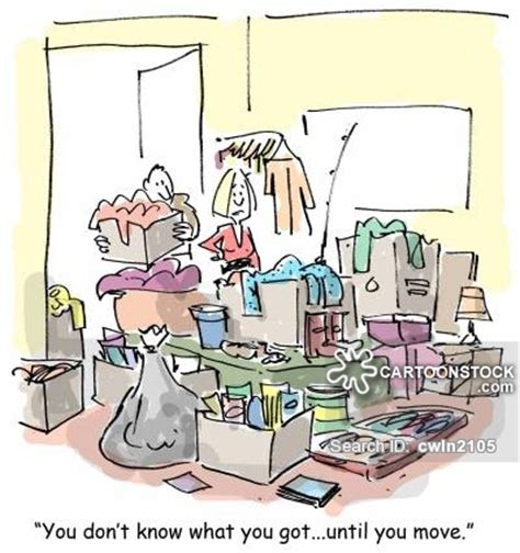 packing moving packing cartoons and comics funny pictures from cartoonstock