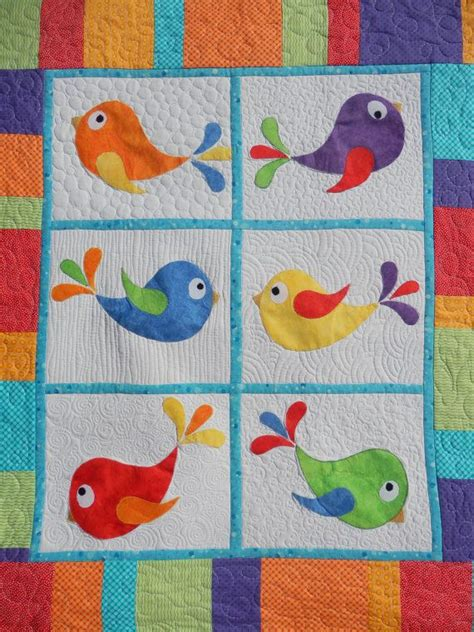 Patchwork Applique - 17 best images about bird and birdhouse quilts on