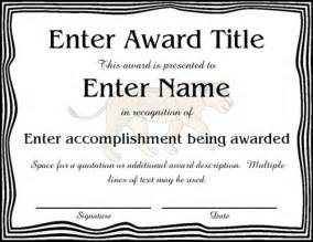 Generic Certificate Templates Pics Photos Generic Award Certificate In Mostly Black