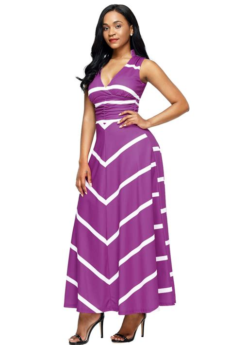 Purple Maxi Dress formal dresses maxi dresses maxi dress striped maxi