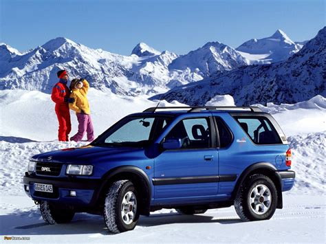 opel frontera 1998 opel frontera b sport pictures information and