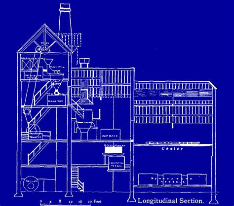 Floor Plan App Free brewery blueprint drawing by