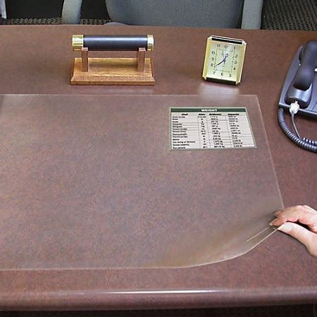 Artistic Second Sight Desk Protector by Artistic Ss1924 Second Sight Desk Protector Rectangle 24