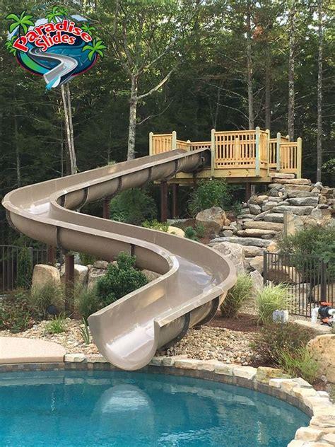 custom water slide model ps61l c paradise slides custom